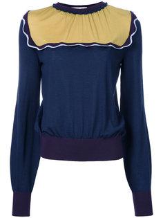 contrast sweatshirt  Roksanda