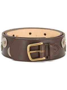 coin embellished belt Kenzo Vintage
