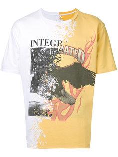 футболка с принтом Doublet