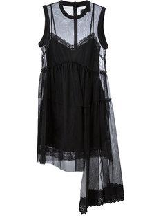 sheer flared dress Simone Rocha