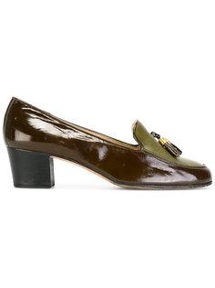 tasseled loafers Céline Vintage