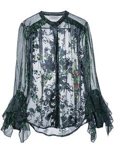 multi printed shirt  Preen By Thornton Bregazzi