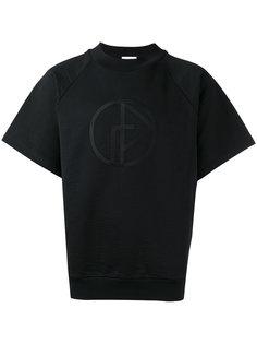 футболка с вышивкой логотипа Gosha Rubchinskiy ГОША РУБЧИНСКИЙ