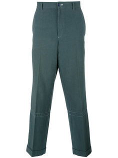 loose-fit tapered trousers Comme Des Garçons Vintage