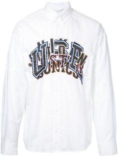 рубашка с вышивкой Doublet