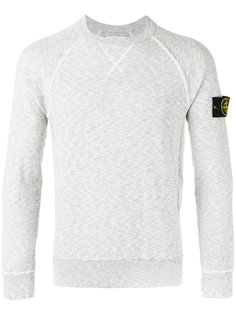 arm patch sweatshirt Stone Island
