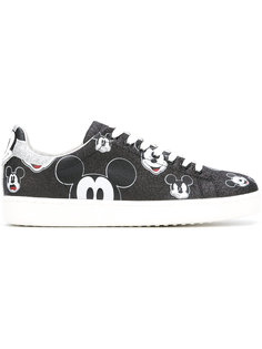 cartoon print trainers  Moa Master Of Arts
