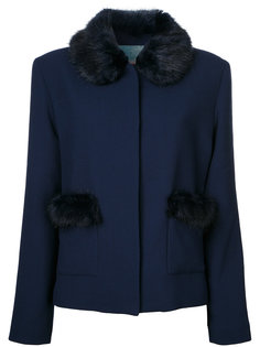 Duke faux fur trim jacket  Shrimps