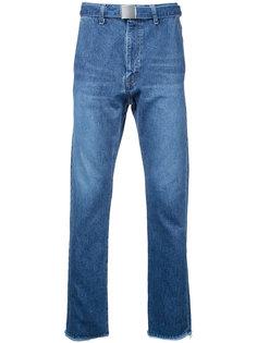 джинсы кроя слим Doublet