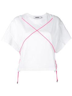 cross-detail T-shirt Marios