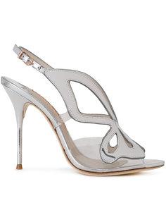 sling-back metallic sandals Sophia Webster