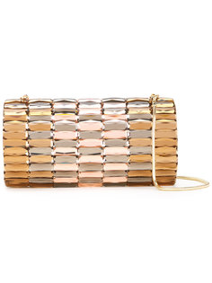 metallic jewel embellished clutch Isla