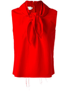knot detail sleeveless blouse Marquesalmeida