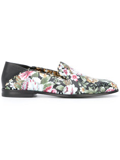 floral print loafers Alexander McQueen