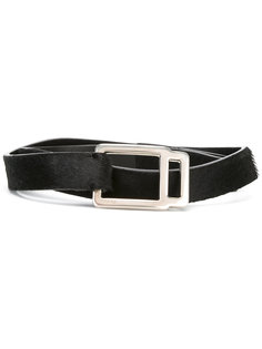 geometric buckle belt Prada Vintage