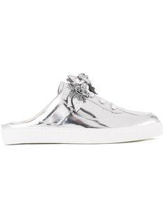 metallic sneaker mules Sophia Webster