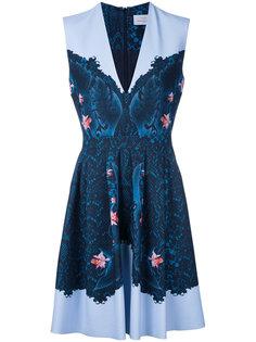 printed dress  Preen By Thornton Bregazzi