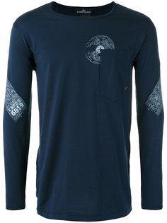 chest pocket longsleeved T-shirt Stone Island Shadow Project