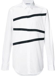 рубашка с контрастными полосками Neil Barrett