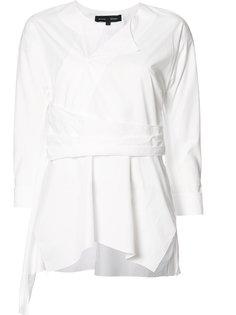 блузка с плиссировкой Proenza Schouler