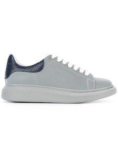 кроссовки на шнуровке Alexander McQueen