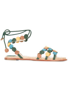 сандалии со шнуровкой Paloma Barceló