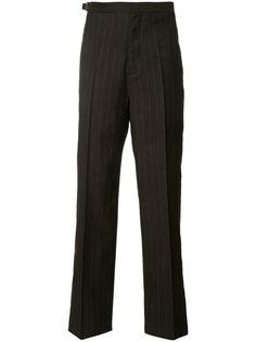 брюки в полоску Maison Margiela