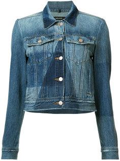 джинсовая куртка с панельным дизайном J Brand