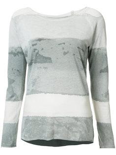 футболка с принтом тайдай Raquel Allegra