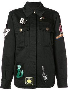 куртка с заплатками Marc Jacobs