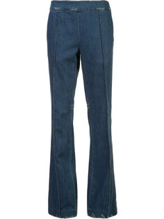 расклешенные брюки Victor Alfaro