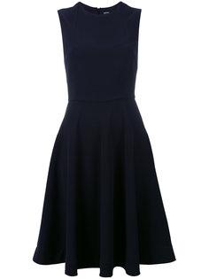 платье с приталенным лифом Jil Sander Navy