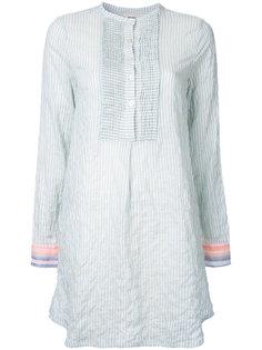 платье-рубашка в полоску Lemlem