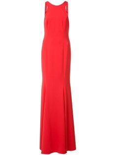 вечернее платье с драпировкой Jay Godfrey