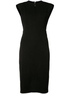 платье-футляр с вырезом на молнии Akris Punto