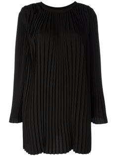 плиссированное платье  Mm6 Maison Margiela