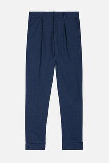 брюки со складками и завышенной талией Ami Alexandre Mattiussi