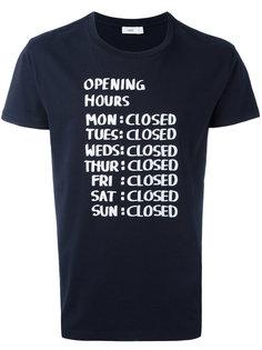 рубашка с принтом Closed