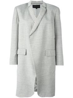 легкое пальто с отделкой из ПВХ Comme Des Garçons Vintage