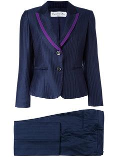 полосатый брючный костюм Christian Dior Vintage