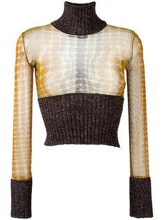 укороченный свитер Jean Paul Gaultier Vintage