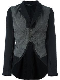 куртка с контрастной вставкой Comme Des Garçons Vintage