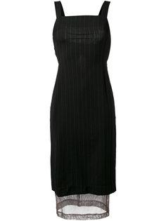 платье с прозрачной вставкой Dolce & Gabbana Vintage