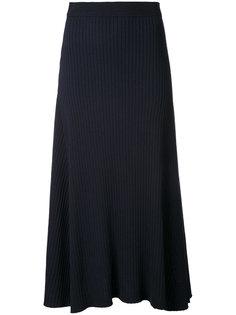расклешенная трикотажная юбка Le Ciel Bleu