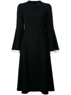 платье с расклешенными рукавами Le Ciel Bleu