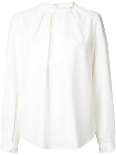 блузка с присборенными рукавами Le Ciel Bleu