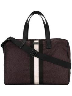 полосатая дорожная сумка Bally