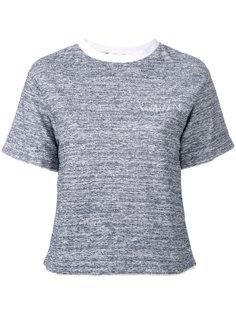 футболка с круглым вырезом Julien David