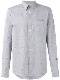 полосатая рубашка с принтом арбузов Ps By Paul Smith