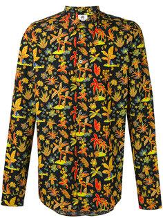 рубашка с цветочным принтом Ps By Paul Smith